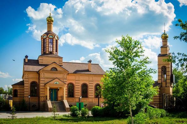 Храм преподобного Серафима Саровского, город Бугульма