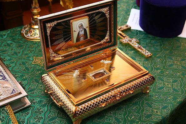 Частицу мощей святого Серафима Саровского доставят в космос