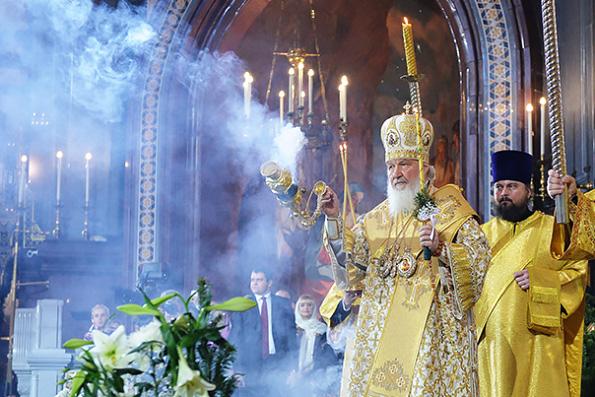 Патриарх Кирилл пожелал верующим всегда чувствовать присутствие Бога в своей жизни