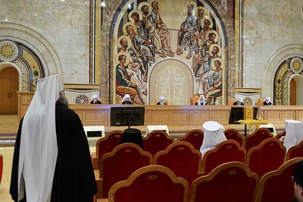 На Межсоборном присутствии обсудили темы монашества и церковного брака