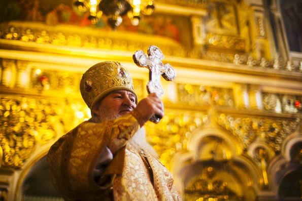 Проповедь митрополита Феофана в Неделю о блудном сыне в Никольском кафедральном соборе Казани