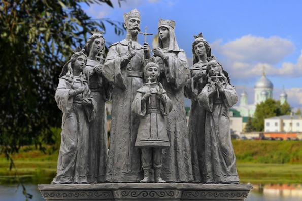 Завершился первый этап создания памятника царской семье для Дивеево