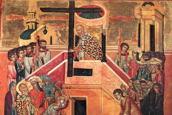 Обретение Честного Креста и гвоздей святой царицей Еленой во Иерусалиме (326 г.)