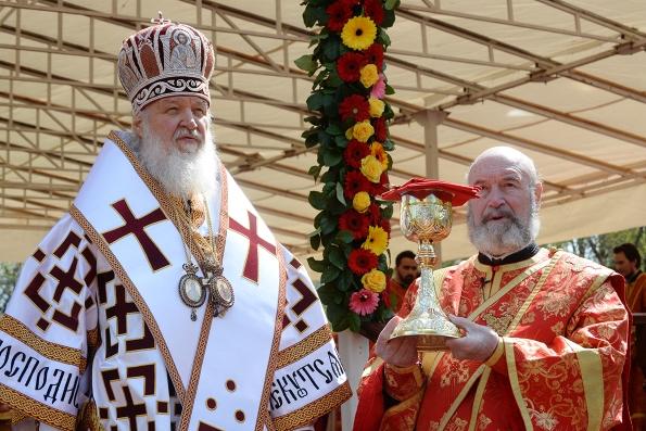 Патриарх Кирилл: «Без жертвы новомучеников не было бы духовного возрождения»