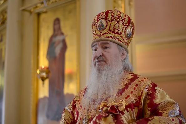 Проповедь митрополита Феофана в Неделю о самаряныне на Литургии в Богородицком монастыре Казани