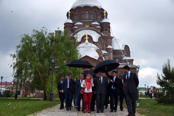 Государственная делегация Португалии ознакомилась с татарстанскими святынями