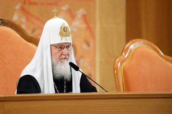 Против Русской Церкви развернута информационная кампания с использованием оплошностей духовенства, — Патриарх Кирилл