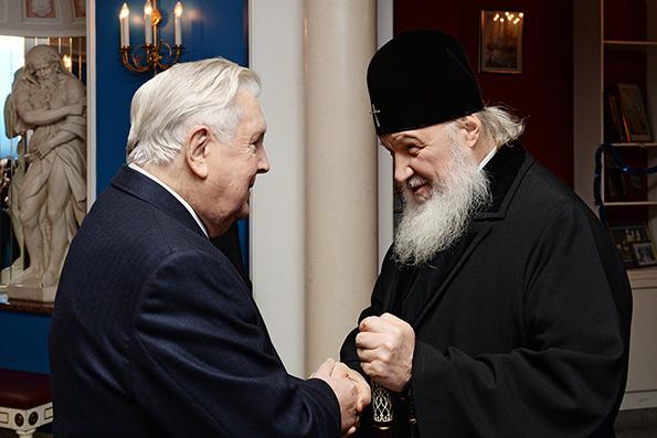 Святейший Патриарх Кирилл выразил соболезнование в связи с кончиной Ильи Глазунова