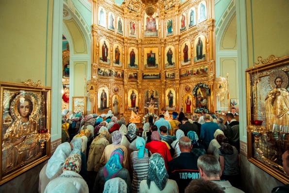 Храм Рождества Иоанна Предтечи села Ключищи отметил престольный праздник