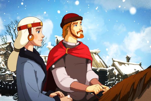 В июле выйдет в прокат мультфильм о святых Петре и Февронии