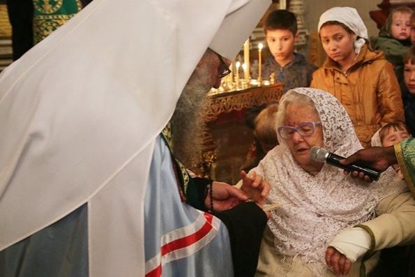Итальянская маркиза подарила екатеринбуржцам частицу мощей святой Екатерины