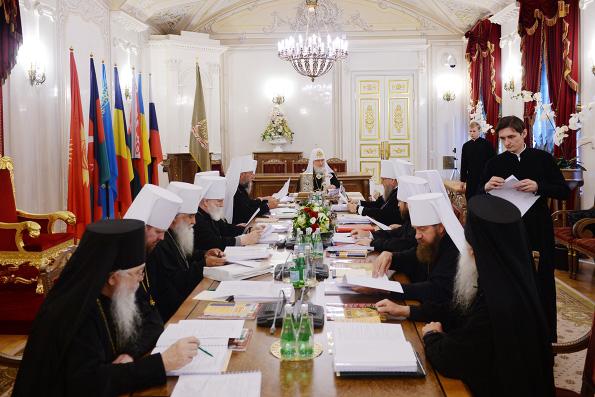 В Санкт-Петербурге состоялось заседание Священного Синода