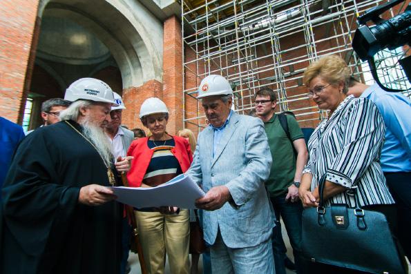 Генеральный директор ЮНЕСКО Ирина Бокова посетила Богородицкий монастырь города Казани