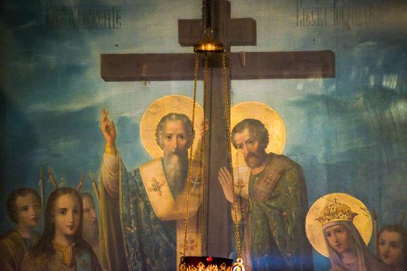 Кресту Твоему покланяемся, Владыко, и Святое воскресение Твое славим